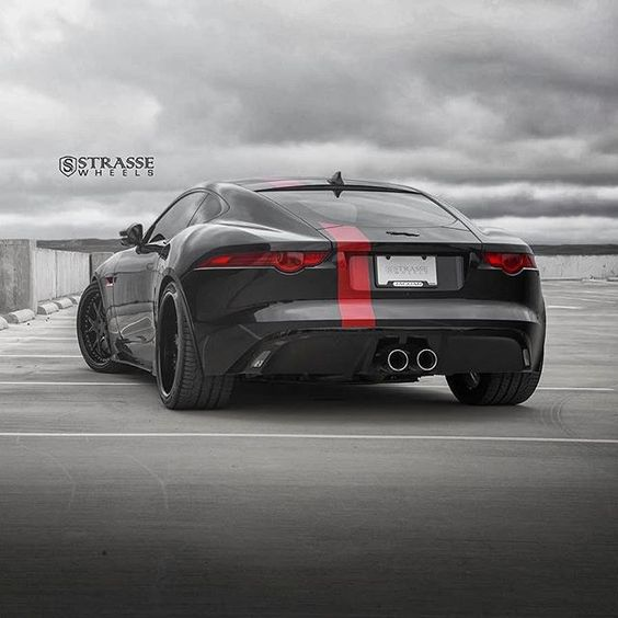 Dark F-Type Vibes🔥 --> Follow @jagsbuzz @wild_whips_ for More Epic Supercars <-- ------- **Visit Our Website by Clicking the Link in the Bio** ------- Photo Credits: @strassewheels @jordancolephotos  #  #JagsBuzz ------- #SupercarsBuzz #ftype #jaguarftype #jaguar #ftypes