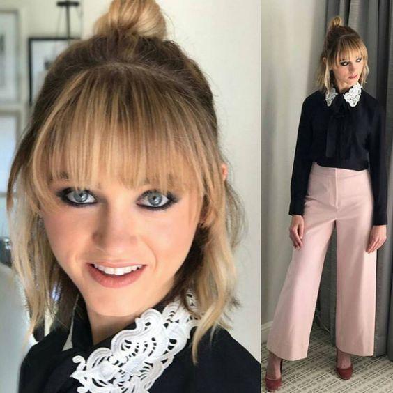 """23 curtidas, 2 comentários - Smsma (@smsma_fa) no Instagram: """"Natalia dyer _ _ _ _ _ @smsma_fa _ #spring #fashion #dress #dresses #design #beauty #beautiful…"""""""