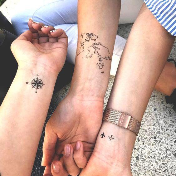 77 Niedliche Und Minimalistische Kleine Tattoo Ideen Fur Frauen
