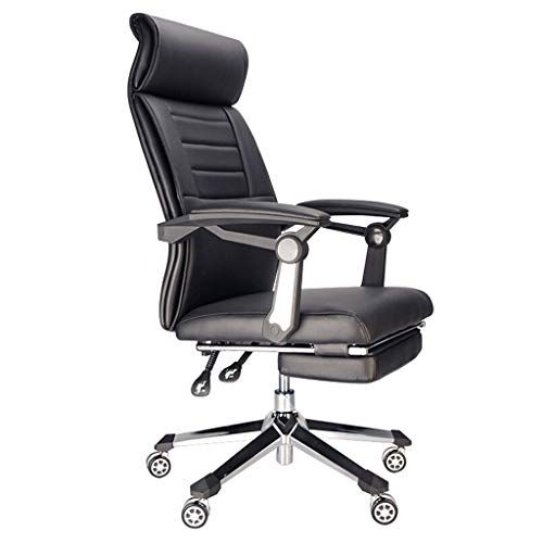 Wxf Ergonomic Household Computer Chair Breathable Mesh Swivel Boss Office Chair With Footrest Reclining Black Color B Computer Chair Office Chair Foot Rest