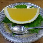 萬亀楼 - 料理写真:水物 グレープフルーツゼリー