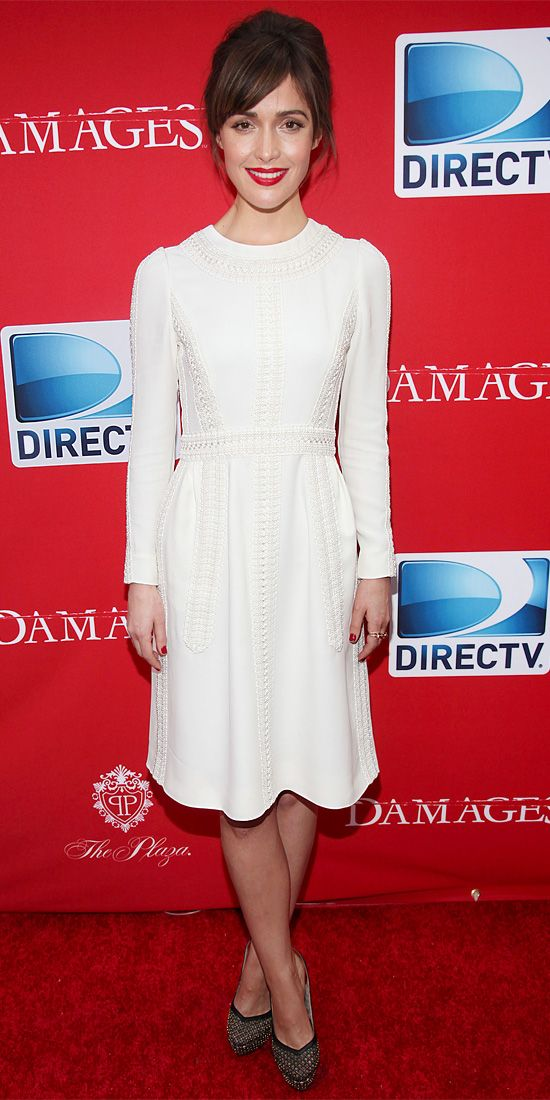 Rose Byrne in Valentino and Cartier