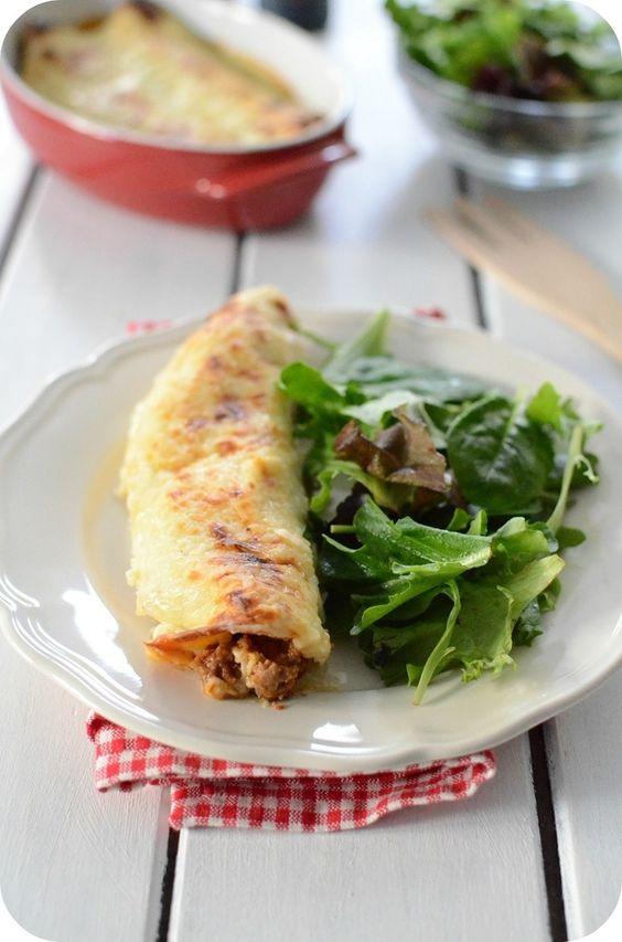 Enchiladas au boeuf haché de Paprikas