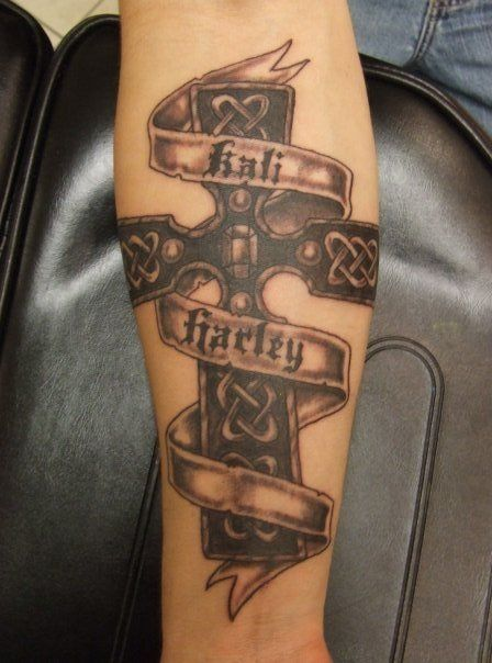 cross tattoo designs with names custom tattoos amp made to