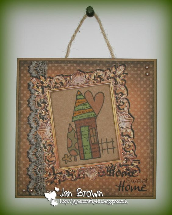 Using 'House of Hearts' stamp set
