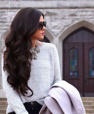 Haartrend: 'Hair plopping'