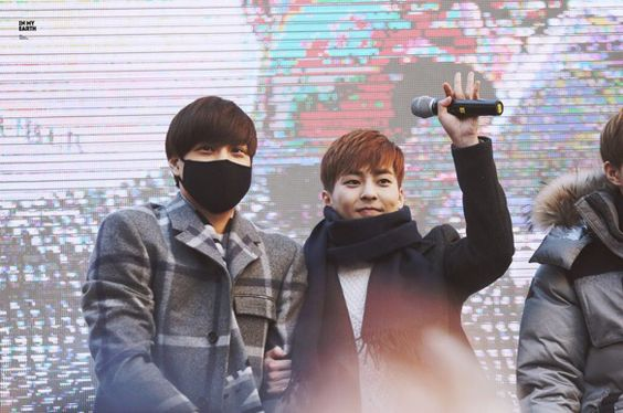 Kai and Xiumin | 150131 Nature Republic Fansign Event