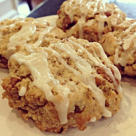 ... soy milk glaze | Nom. | Pinterest | Pecan Cookies, Pecans and Oatmeal