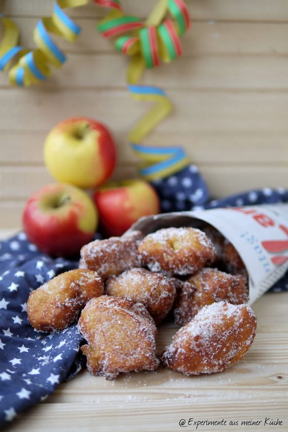 Experimente aus meiner Küche: Apfel-Krapfen