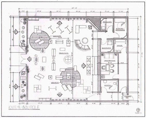 Pin De Asen 酱 En P平面图 Planos De Tienda Interiores De Tienda