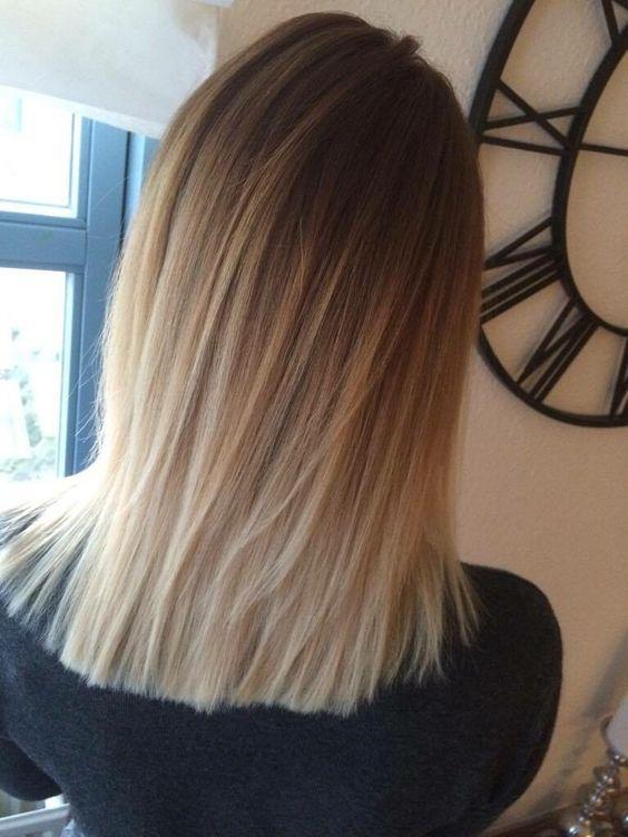 - nyt hår fra min skønne veninde, kort og lækker ombre