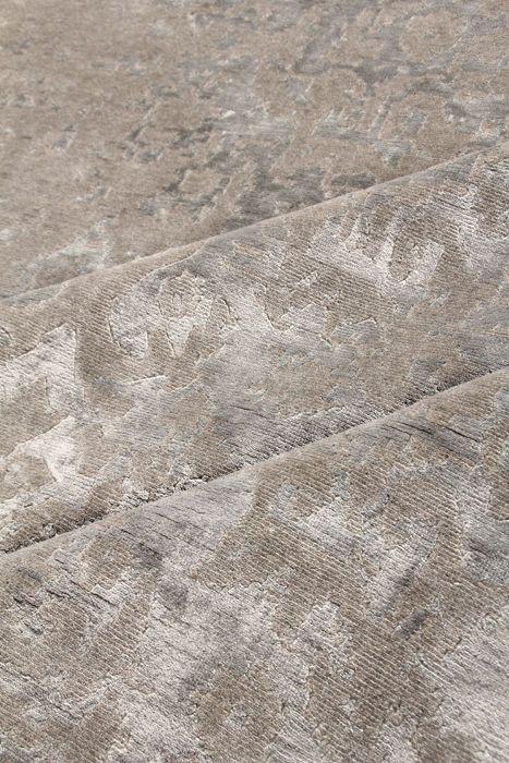 tapis contemporain motifs en laine et soie fait main taj mahal silver edition. Black Bedroom Furniture Sets. Home Design Ideas