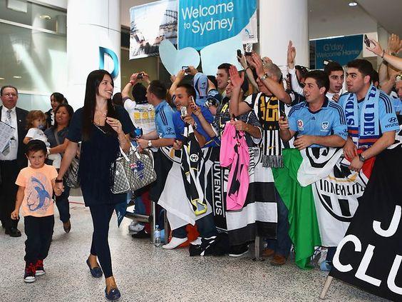 Del Piero arrives in Sydney   Del Piero arrives in Sydney   thetelegraph.com.au