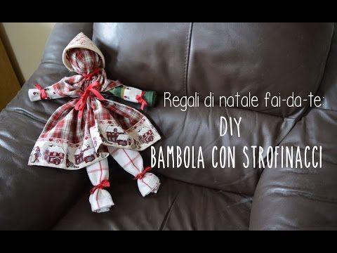 Regali di Natale fai-da-te: DIY Bambola di strofinacci ...