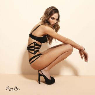 The Axelle Dominatrix Sexyness with a hot waist cincher.
