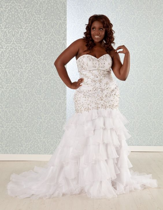 Dress is a common type of plus size wedding dress corset ...