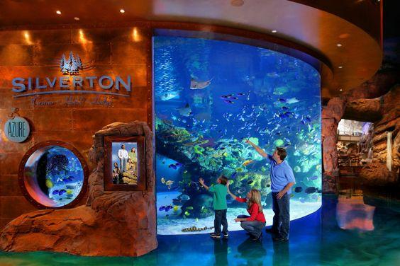 Aquarium Las Vegas; Mermaids; Aquarium Silverton Las Vegas