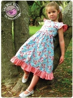 Download Camille's dress PDF sewing pattern - 12 mths to 10 yrs Sewing Pattern | Featured Products | YouCanMakeThis.com