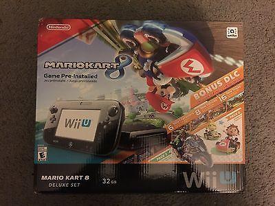 Nintendo Wii U Mario Kart 8 Deluxe Set 32 GB Black Handheld System BRAND NEW!! https://t.co/KLlxdrR4wc https://t.co/eRU4Z7EKEq