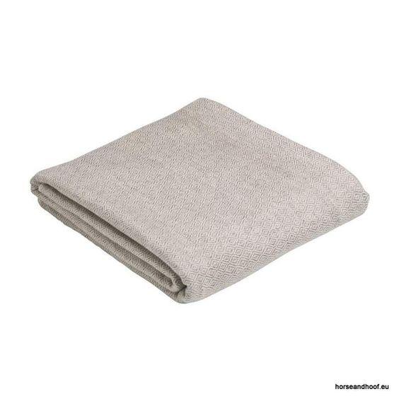 Pampeano Calma Pure Cashmere Throw - Biege and White 130 times 250 100 cashmere…