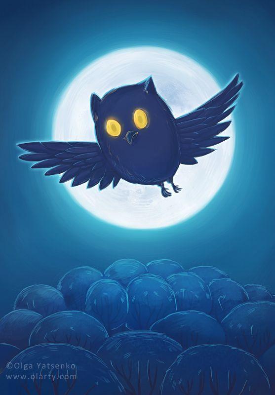 Illustration for kids book. Artist Olga Yatsenko www.olarty.com