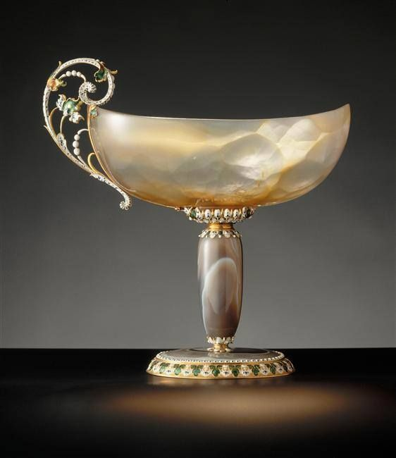 Louis XIV's Collection | Agate Goblet, inherited from Cardinal Mazarin - 17th century.: