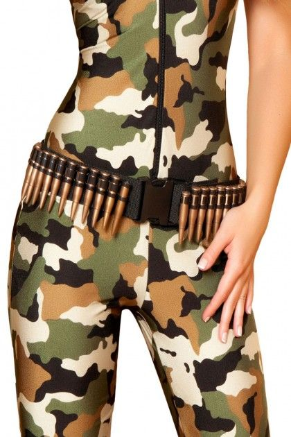 Roma Costume Womens Camouflage Boy Shorts