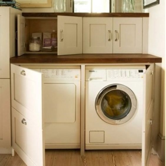 Hide Your Washer And Dryer Home Decor Pinterest