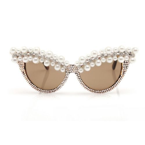 love these, on the brink of greatness...: Sun Glasses, Cat Eyes, Pearl Sunglasses, Oakley Sunglasses, Lena Sunglasses, Ray Ban Sunglasses, Pearls Sunglasses, Cat Eye Sunglasses, Eye Glasses