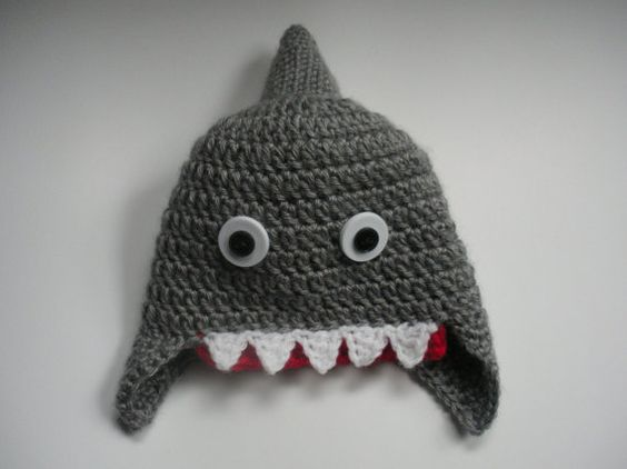 Shark Week Fun Hat, Shark Hat, Newborn Shark Hat, Baby Shark Hat, Toddler Shark Hat, Child shark Hat, Adult Shark Hat, Newborn Shower Gift
