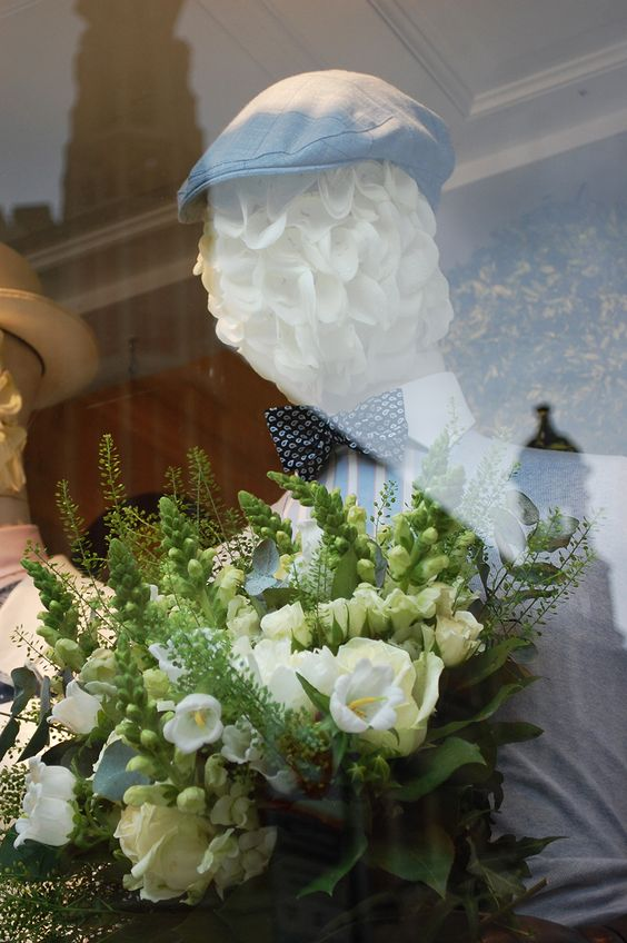 CHELSEA IN BLOOM - Hackett London in collaboration with Harlequin Design