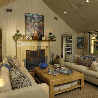 Living Room reading swing arm wall sconces couch Design Ideas, Pictures, Remodel and Decor ...