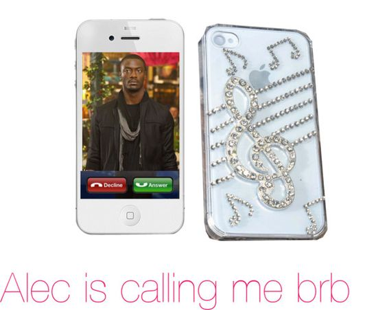 """Incoming call"" by mathgeek16 ❤ liked on Polyvore"