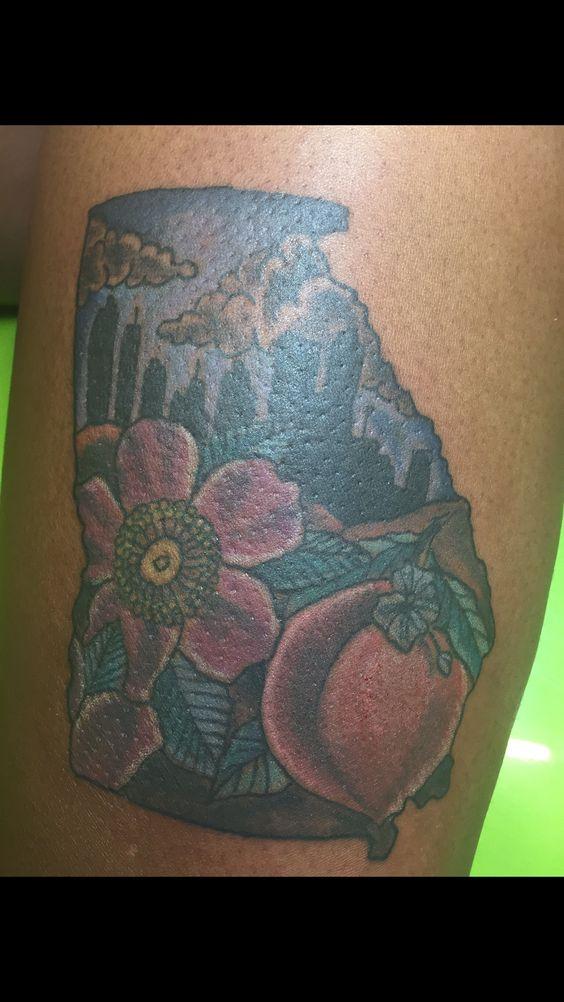 Georgia tattoo on chrissy_lorrain