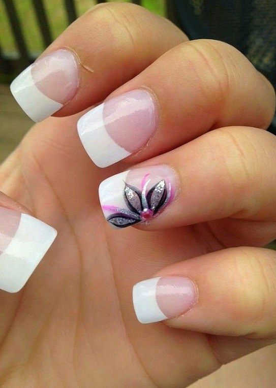 55 Nail Art Ideas For Spring 2018 With Images Flower Nail