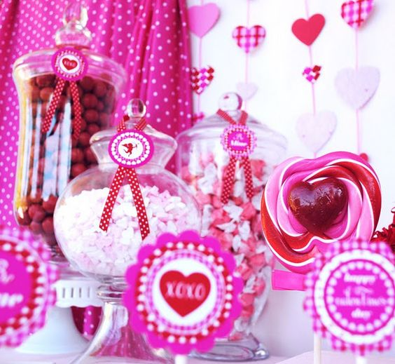 Be Mine, Valentine - themed party