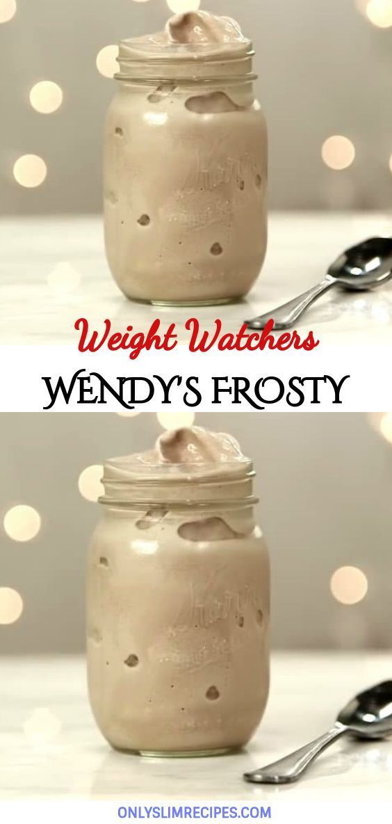 How To Make A Wendy S Frosty 3 Points In 2020 Wendys Frosty Recipe Frosty Recipe Frosty Recipe Healthy