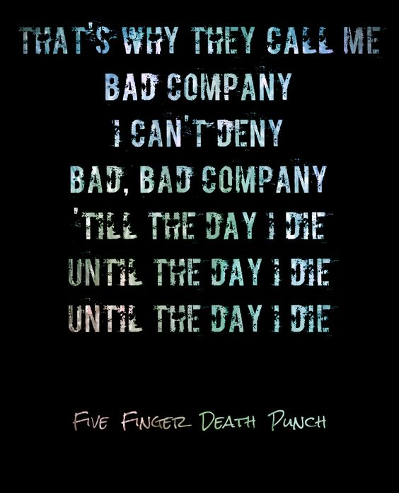 five fingers death lynch bad company