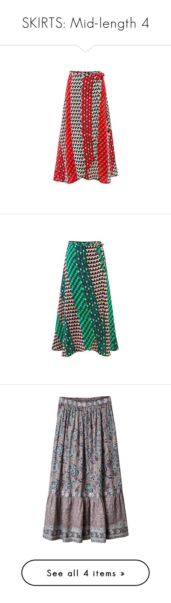 """""""SKIRTS: Mid-length 4"""" by ravenlancaster ❤ liked on Polyvore featuring skirts, red, women bottoms skirts, boho maxi skirt, red skirt, bohemian maxi skirt, a line maxi skirt, red maxi skirt, green and green chiffon maxi skirt"""
