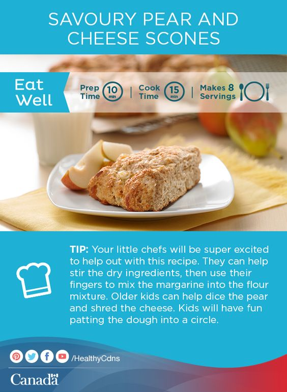 This pear and cheese scones recipe is perfect for a tea party with ...