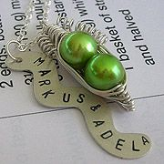 Perfections Handmade Jewelry - wouldn't this be cute at table setting for someone's wedding?