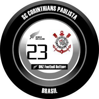 DNZ Football Buttons: SC Corinthians Paulista