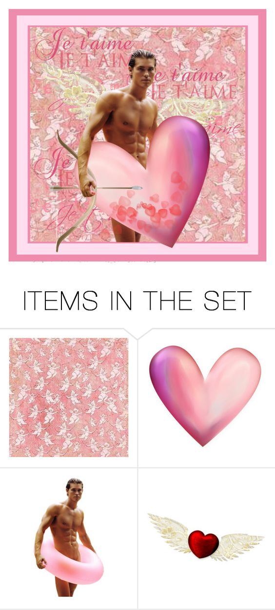 """""""Cupid"""" by sue-wilson1967 ❤ liked on Polyvore featuring art"""