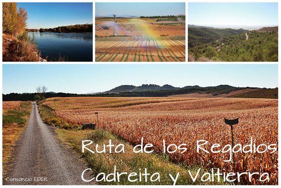 Paisajes de la Ribera de Navarra; Ruta de los Regadíos Cadreita y Valtierra