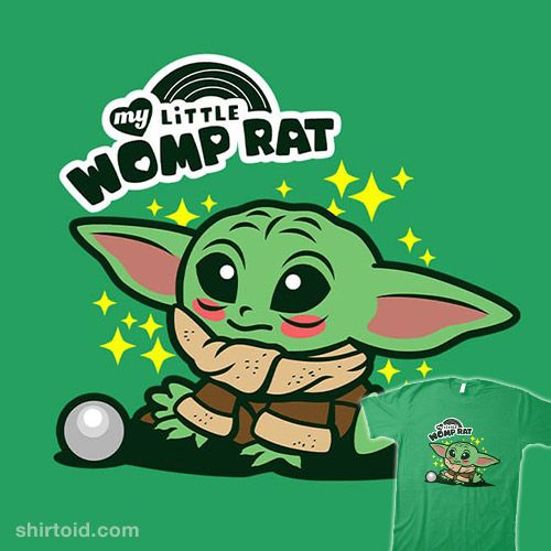 My Little Womp Rat Shirtoid Cute Cartoon Wallpapers Star Wars Background Yoda Wallpaper Now i'm imagining that in some specific circles womp rat leather has a kind of trophy status, it's what the. my little womp rat shirtoid cute