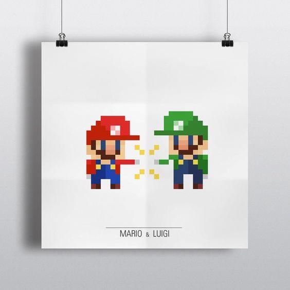 Nintendo Pixel Design Concepts Created by eivven | it8Bit