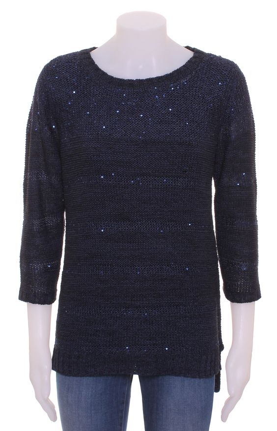 For just £15 from Trafford Clothing you can buy this glitzy ex Wallis knitted jumper. Wear it with white skinny jeans for the days when you want to stand out and look glamorous.