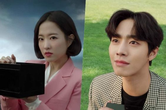 "Watch: Park Bo Young And Ahn Hyo Seop Have Entirely Different Reactions In Trailers For ""Abyss"""