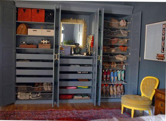 Love Jenny Komenda's Pax closets painted the same as the ...