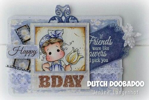 Dutch Doobadoo Camera Door Jenine: